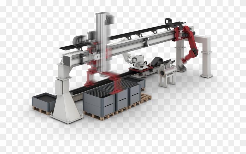 Robot Track Units, Robot Rtu, Robot Slides, Robot Slide - Gantry Robot Cat Track Clipart #1019726