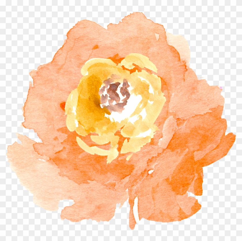 Vector Library Stock Free Floral Elements Pretty Things - Pretty Flowers Clipart Watercolor - Png Download #1027798