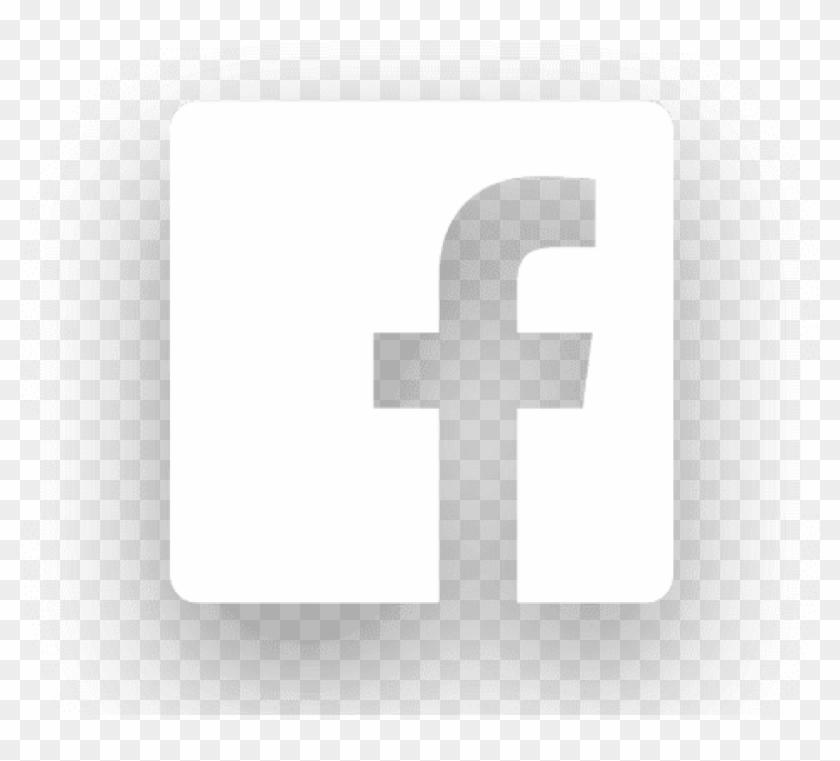 Free Png Download Facebook Logo White Png Images Background - Facebook Logo For Black Background Clipart