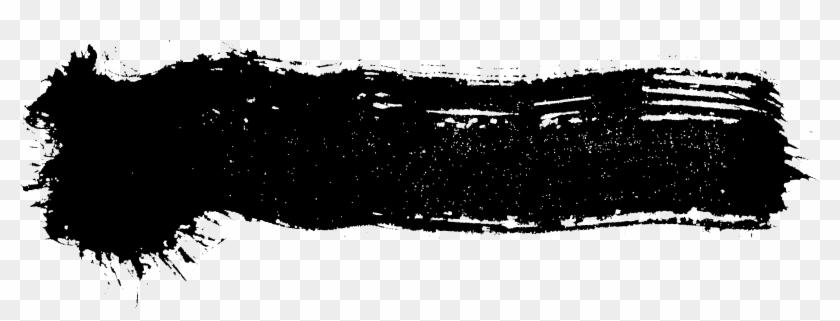 Brush Stroke Black Icon Symbol - Snow Clipart #1030588