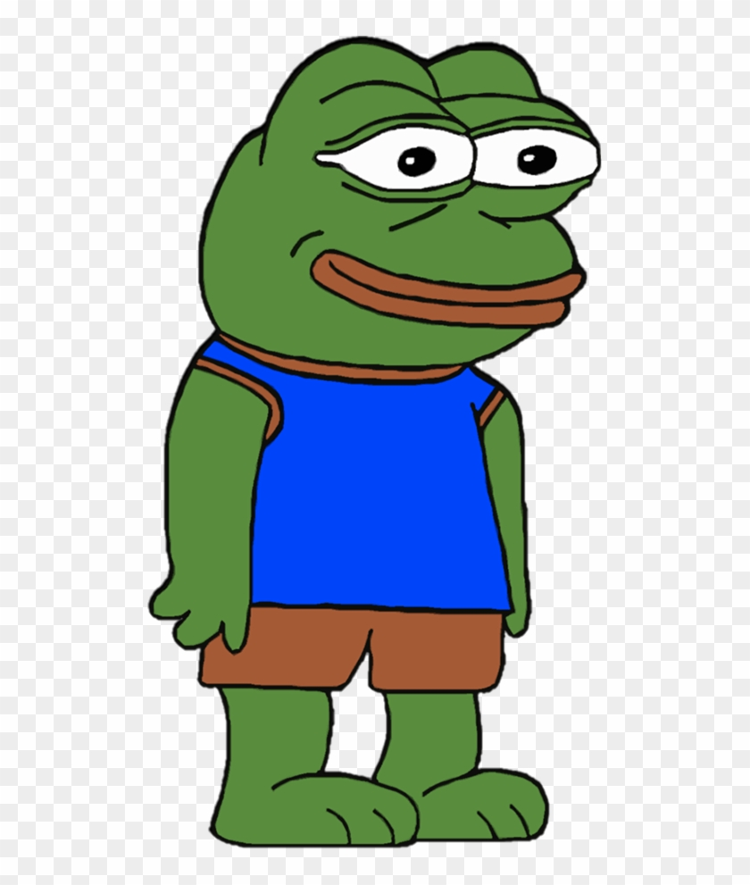 Just A Happy Pepe Big Grin Never Ever Know Your Meme
