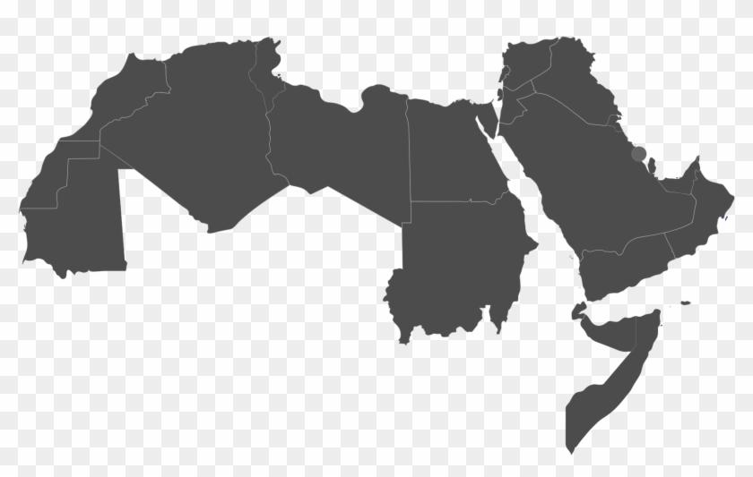 File - Arab World - Svg - Arab World Map Vector , Png - Arab ...