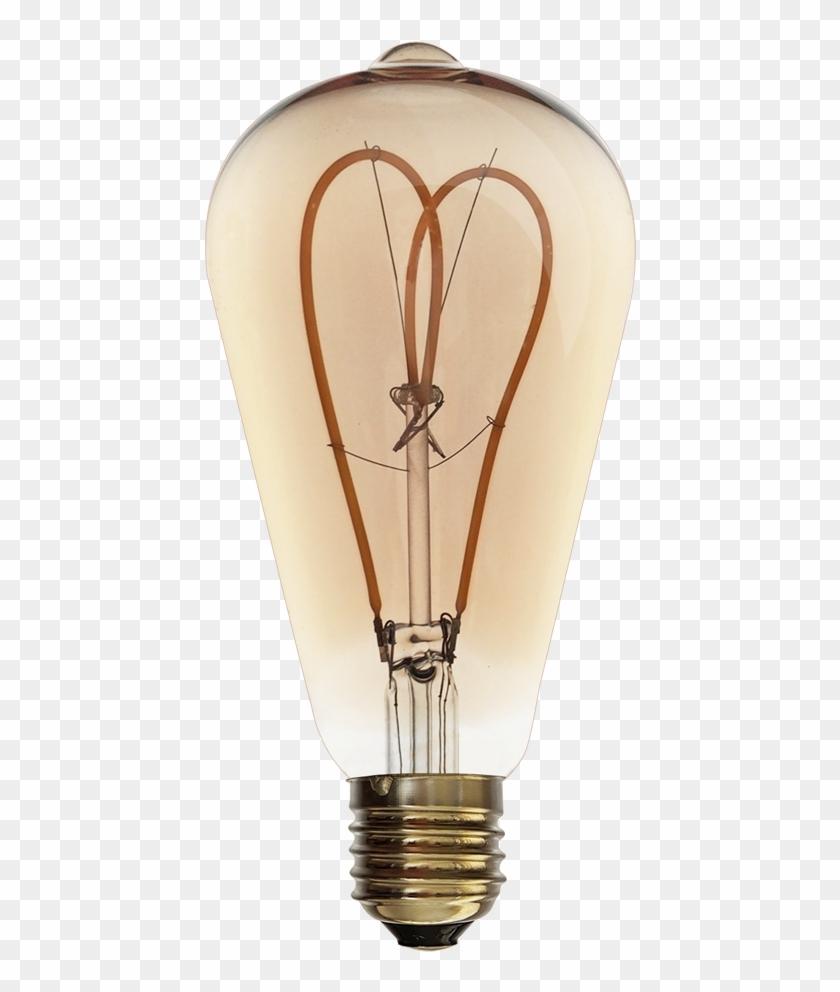 W E Led Edison - Led Lamp Clipart #1033268