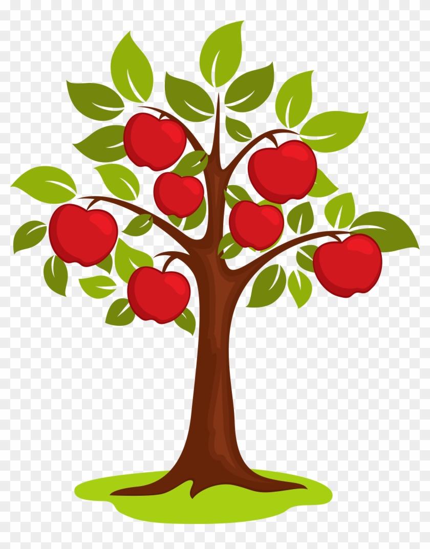 Cartoon Clip Art - Clipart Apple Tree - Png Download #1046903