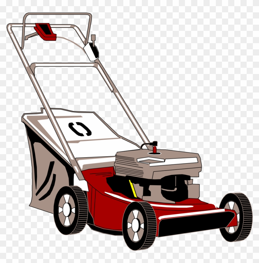 File - Lawn Mower - Svg - Clip Art Lawn Mower Png Transparent Png #1048059