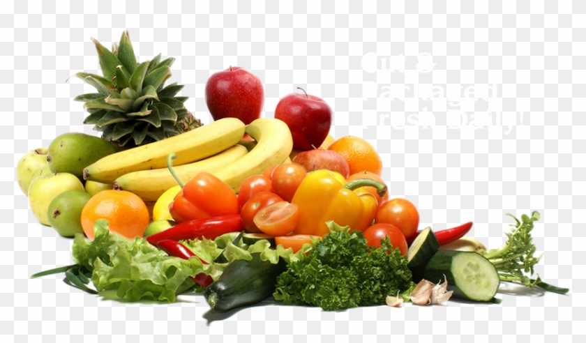 Fruit And Vegetable Png - Transparent Background Fruits And Vegetables Png Clipart #1048568