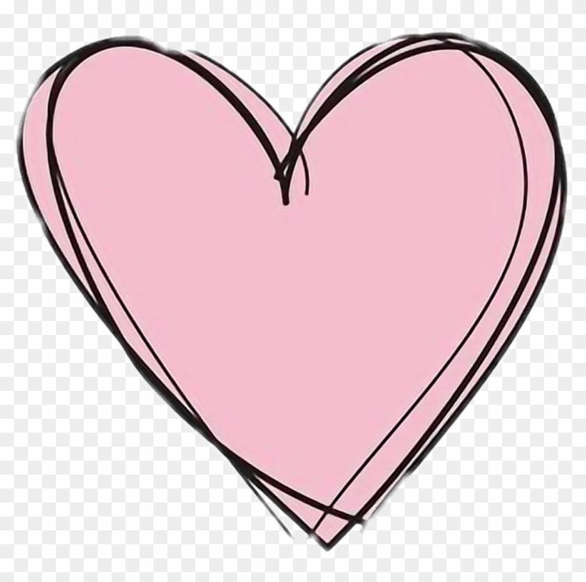 Cute Love Sticker Pink - Love Transparent Background Heart Png Clipart #1053777
