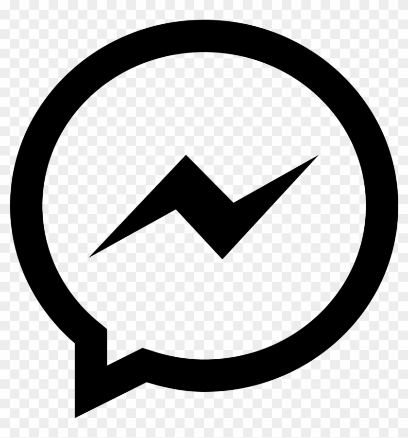 Facebook Messenger Icon - Facebook Messenger Icon Png Clipart #1060141