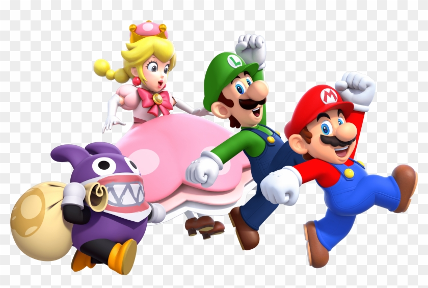 New Super Mario Super Mario Bros U Deluxe Review Peach Clipart 1061247 Pikpng