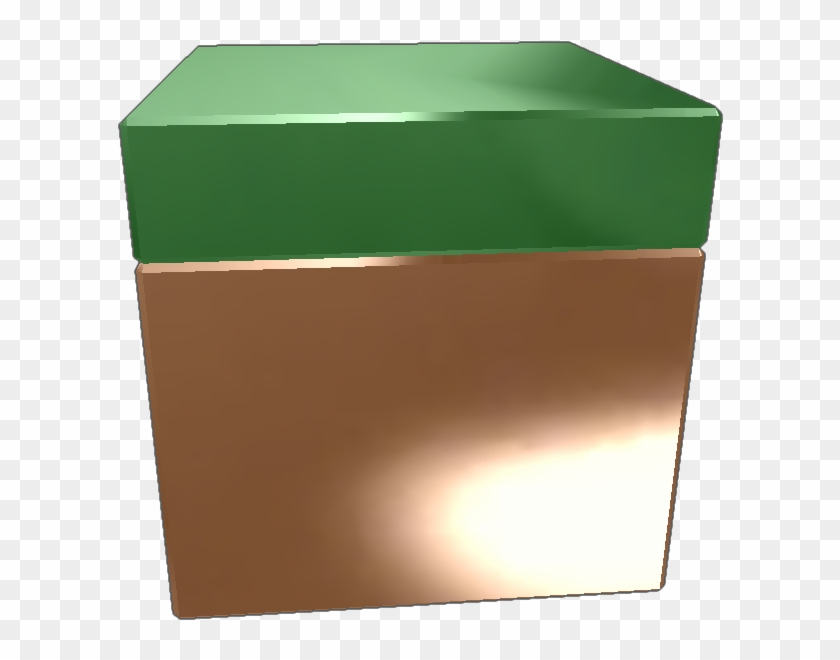 It's A Grass Block From Minecraft And It's Cool Donate - Box Clipart #1066619