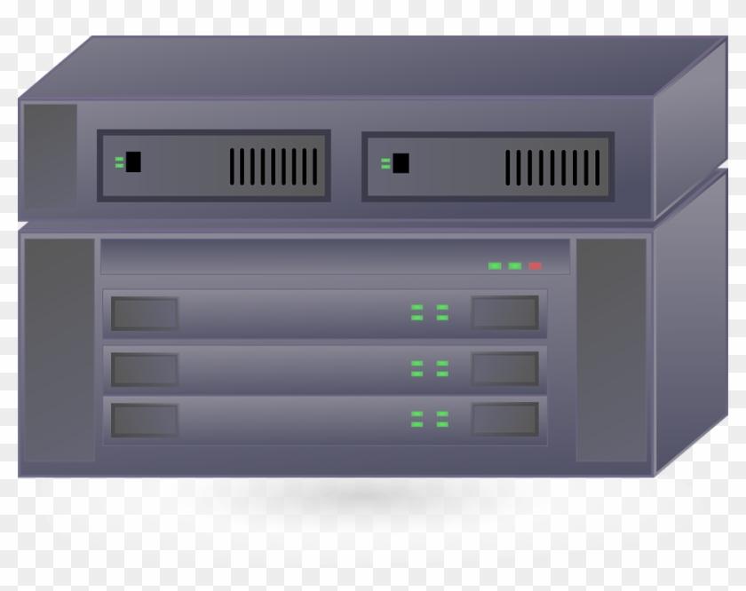 Server Clipart Old Laptop - Server Clip Art - Png Download #1066843