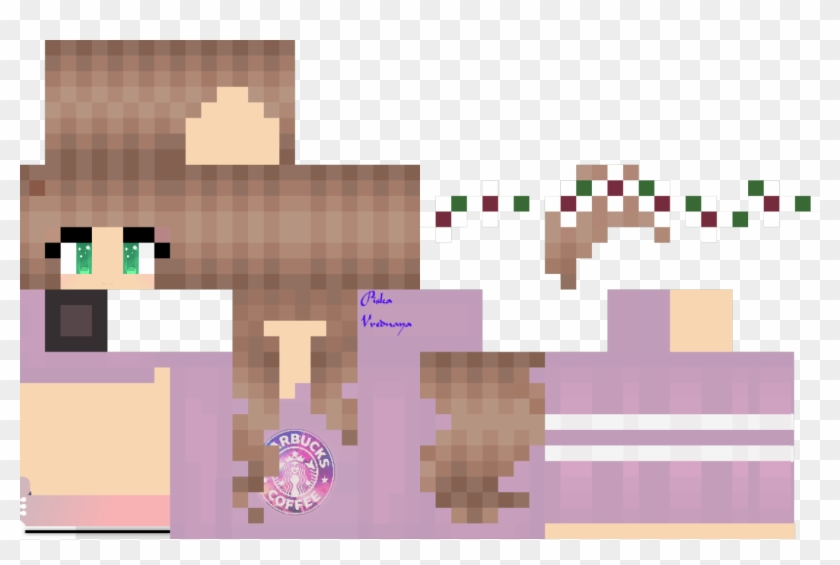 Minecraft Skins For S Crafting - Gambar Skin Minecraft Girl Clipart #1068465