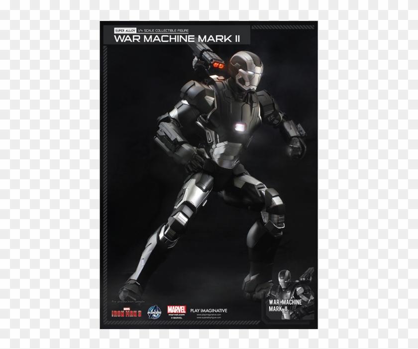 Super Alloy - 1 4 War Machine Clipart #1068662