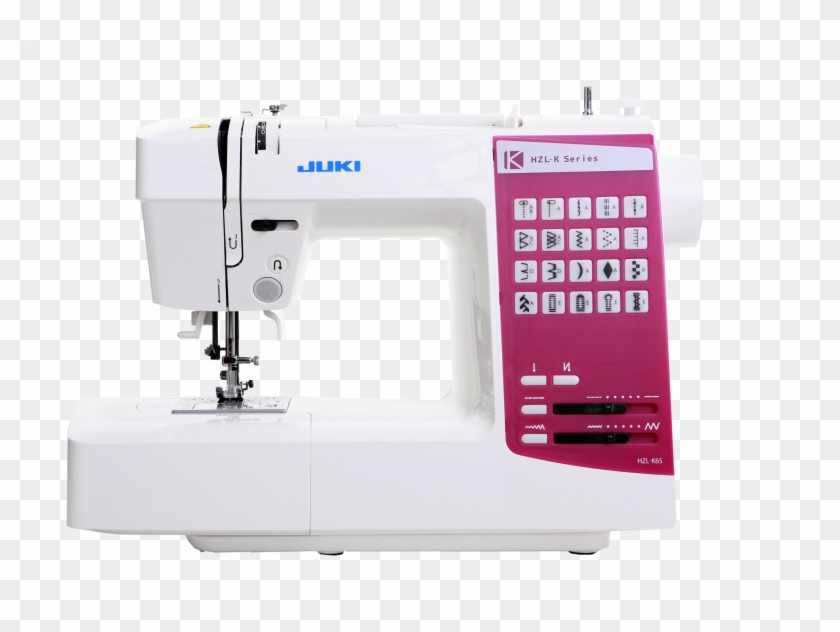 Compact Size Sewing Machine With 20 Stitch Patterns - Juki Hzl K65 Clipart #1069128