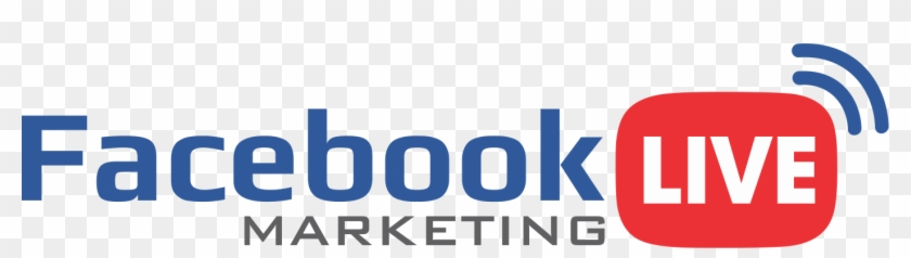 1410 X 334 18 - Facebook Live Logo Png Clipart #1071116