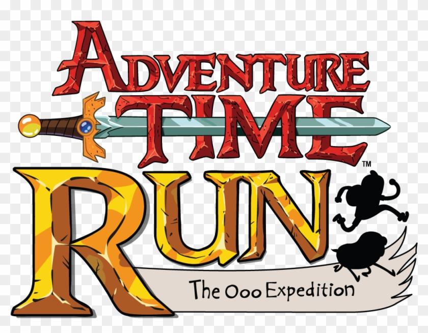 Adventure Time Run - Adventure Time Logo Clipart #1073735
