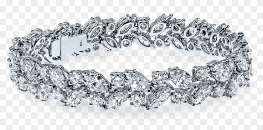 Diamond Jewellery Bracelet Whitegold Love Gift - Bracelet Clipart #1078675