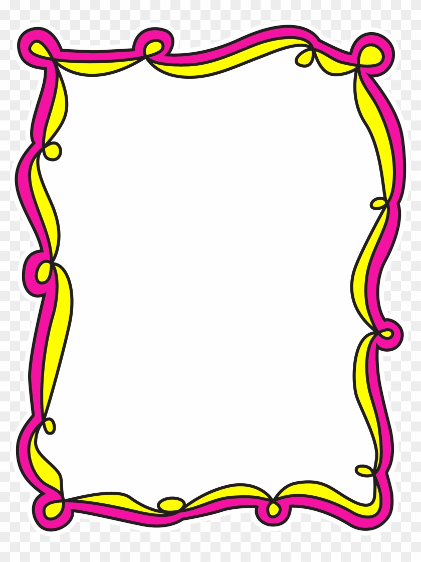 *✿**✿*frame*✿**✿* Borders For Paper - Crayon Page Border Clipart #1081515
