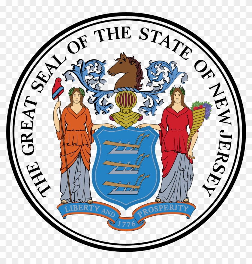 2018 United States House Of Representatives Elections - State Of New Jersey Logo Clipart #1082547