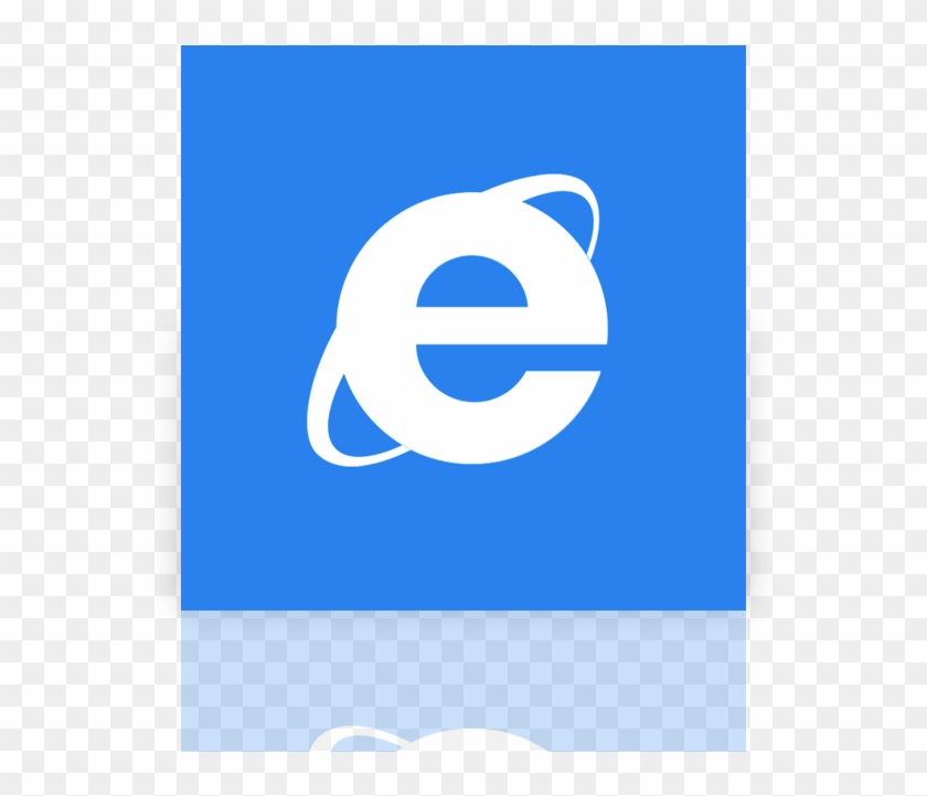 Internet Explorer Mirror Icon Internet Explorer Icon Square Clipart 1083831 Pikpng