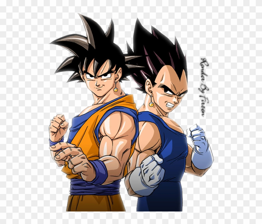 476kib, 535x636, Dragon Balls - Son Goku And Vegeta Clipart #1085370