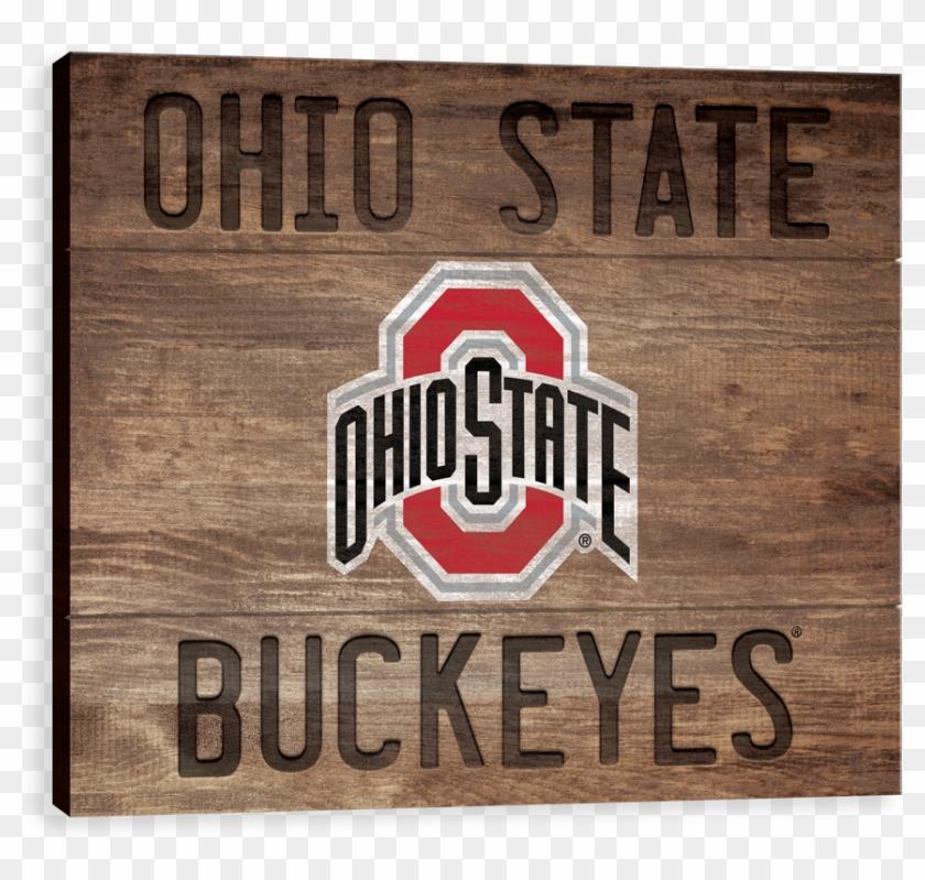 Ohio State Buckeyes Wood Burn - Ohio Clipart #1085697