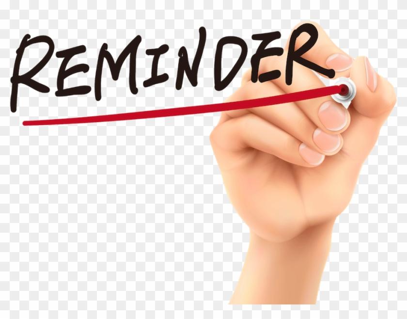 Reminder Png - Reminder Sign Clipart@pikpng.com