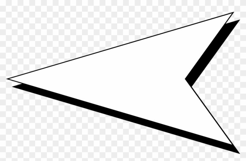 958 X 582 21 - White Left Arrow Transparent Background Clipart #1092626