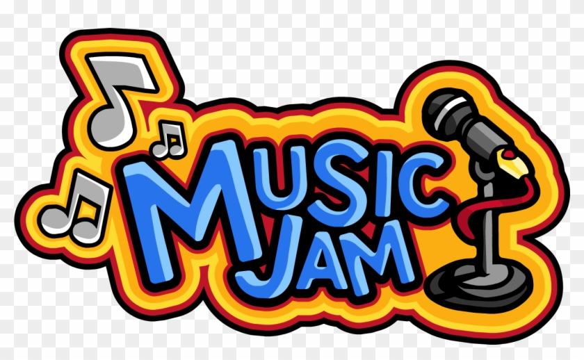 Music Clipart Penguin - Club Penguin Music Jam Logo - Png Download #1092627