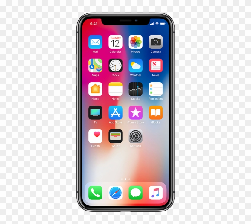 644 X 700 1 - Front Of Iphone X Clipart #1094072