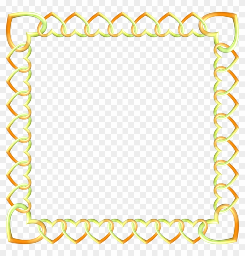 Gold Border Transparent Clipart Borders And Frames - Png Download #1097654