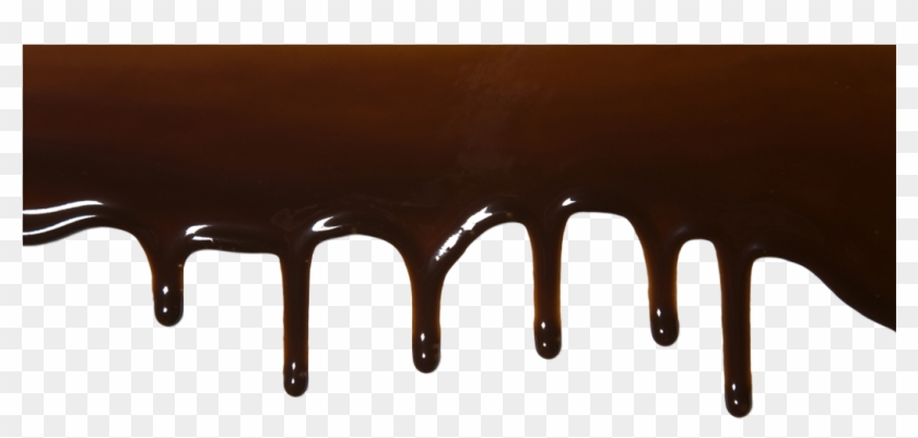 Chocolate Sauce Dripping Png Clipart #1097693