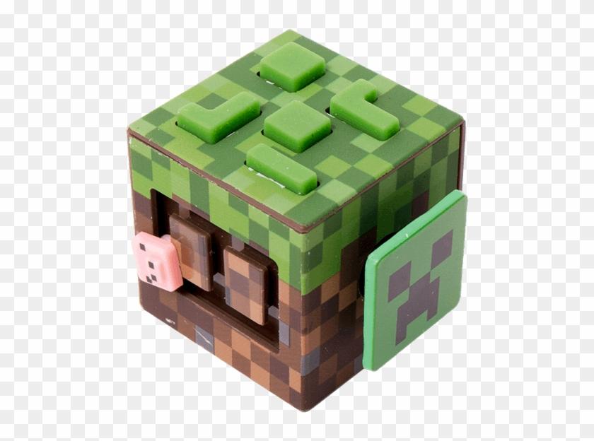 1 Of - Minecraft Grass Activation Block Clipart #111656