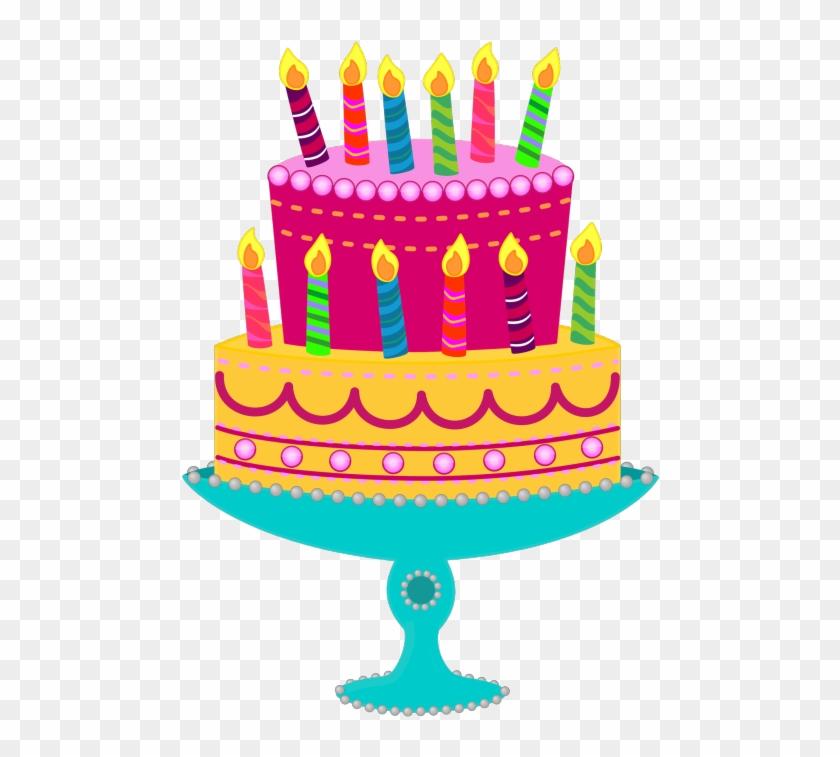 Birthday Cake Clipart Birthday Cake Clip Art, Blue - Birthday Cake Clip Art - Png Download #113369