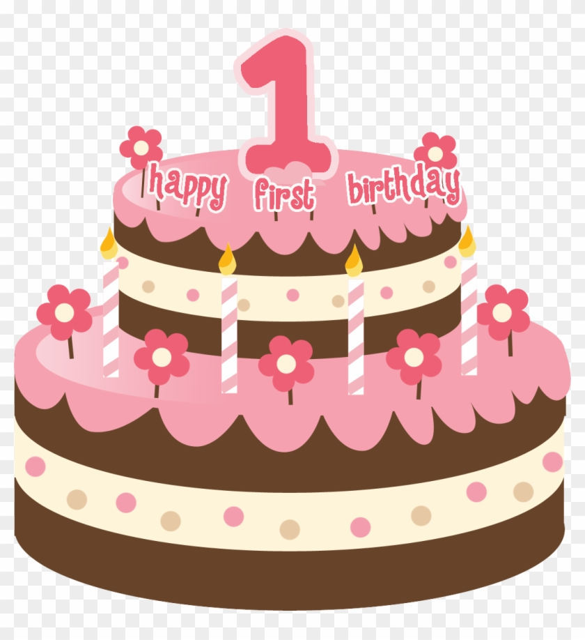 Images For 1st Birthday Cake Png - 1st Birthday Cake Png Clipart #116855