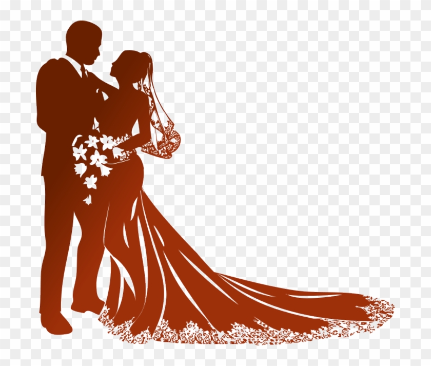 Wedding Png - Bride And Groom Vector Png, Transparent Png #117409