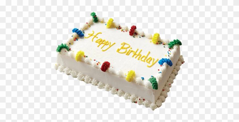 Happy Birthday Square Cakes Clipart #117613