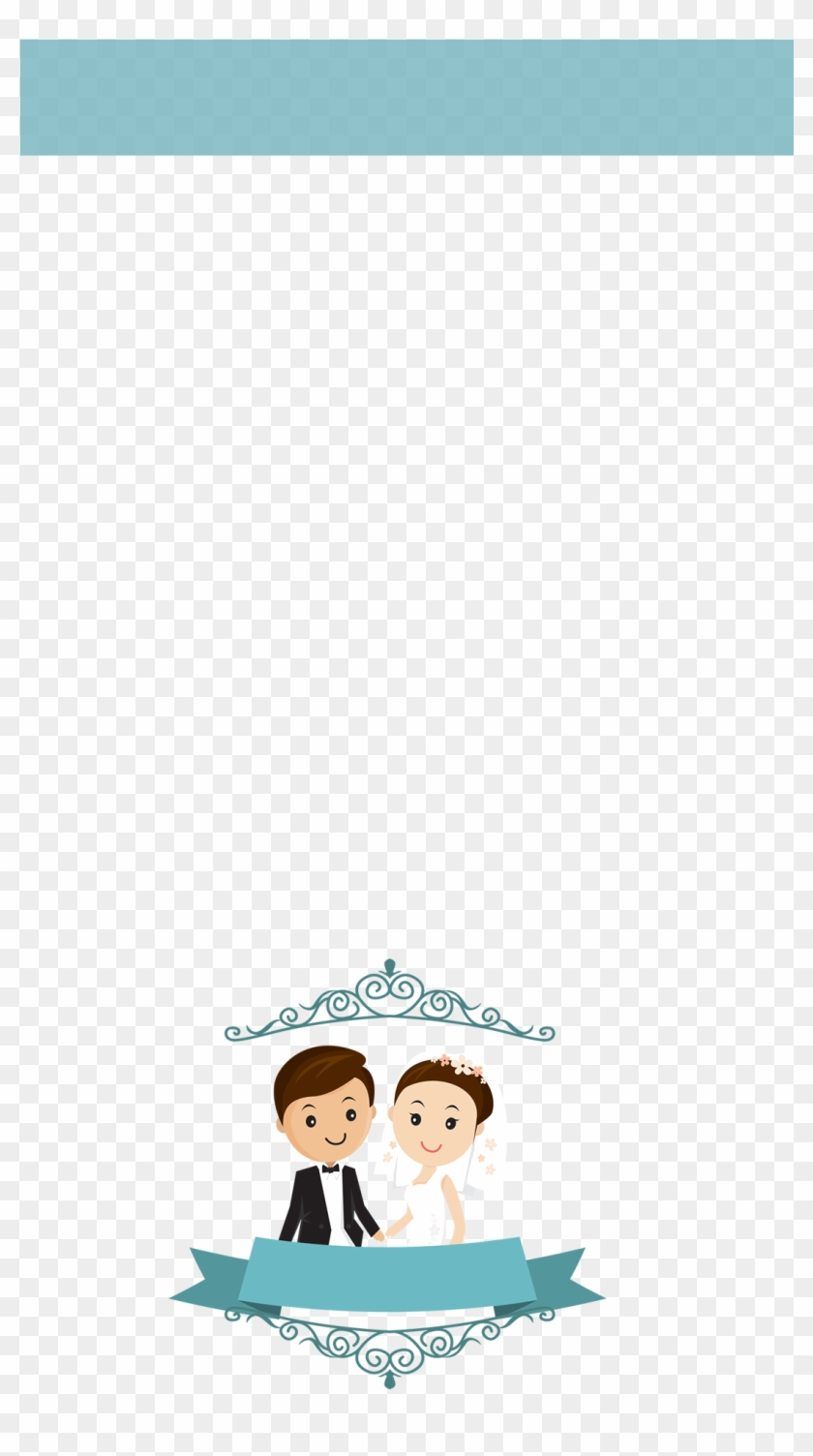 Holding Hands - Wedding Couple Cartoon Png Clipart #117978