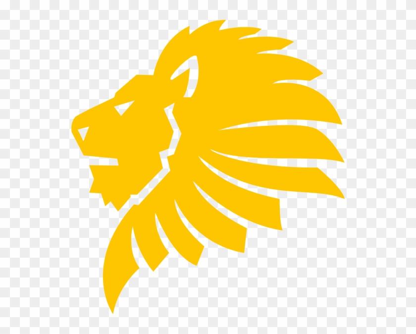 Lion Head Silhouette Images Hd Image Clipart - Golden Lion Logo Png Transparent Png@pikpng.com