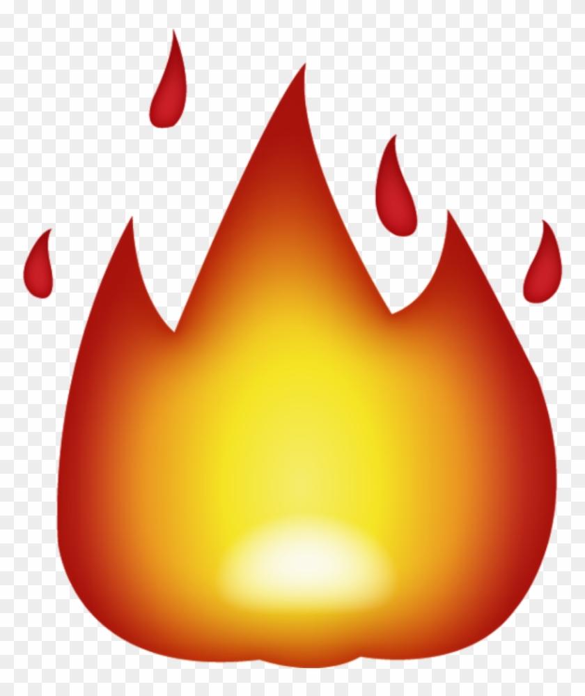 Download Fire Emoji - Fire Emoji Png Clipart #119075