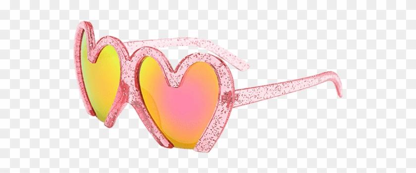 Uv Protection Heart Sunglasses Tutti Frutti - Occhiali Da Vista A Forma Di Cuore Clipart #1101013