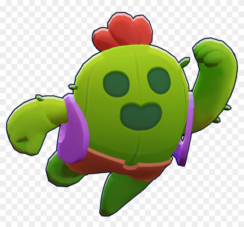 Spike Leon Brawl Stars Png Clipart 1106782 Pikpng