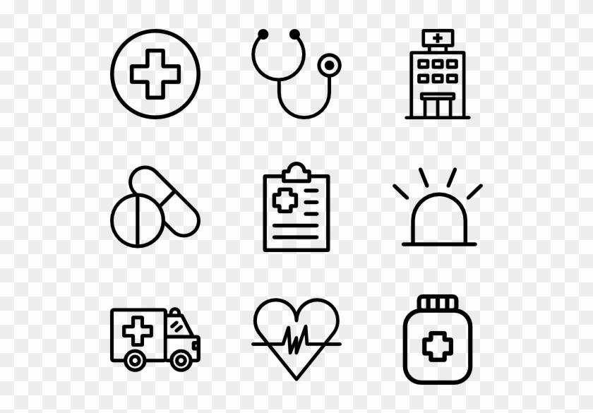 Medical - Web Design Line Icon Clipart #1112018
