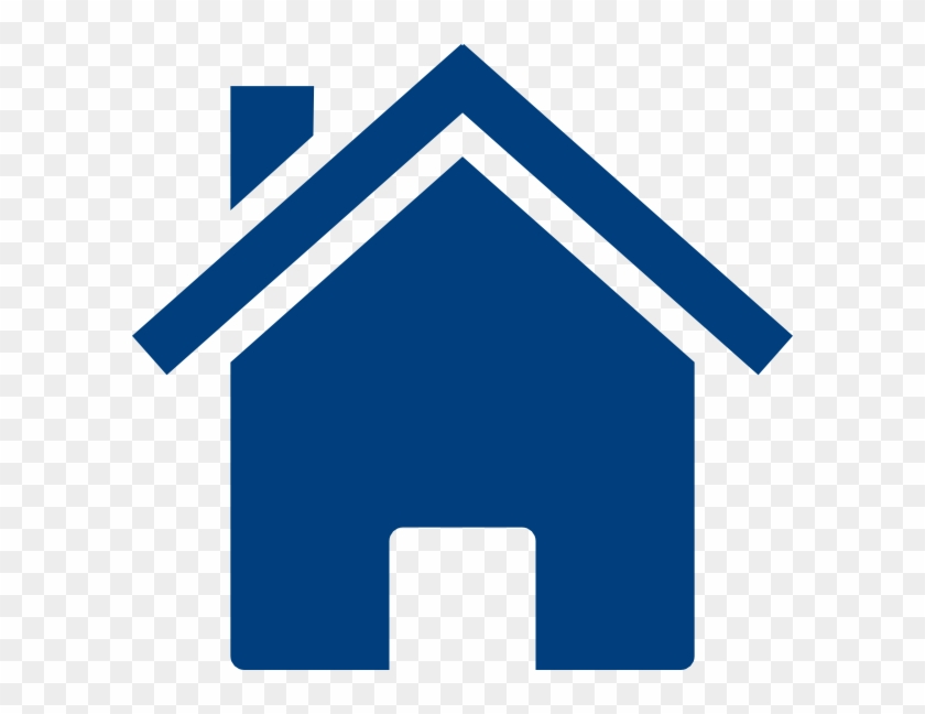 Blue House Vector Png Clipart #1117338