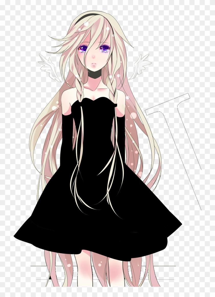 Blond girl anime Cute Anime