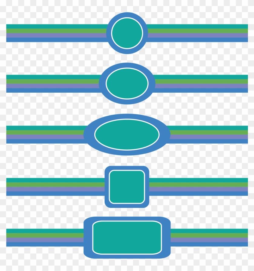 Blue Border Frame Decorative - กรอบ ตกแต่ง สี ฟ้า Clipart #1120677