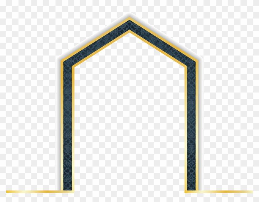 Decorative Clipart Gold Line - Linea De Oro Marco Png Transparent Png #1124818