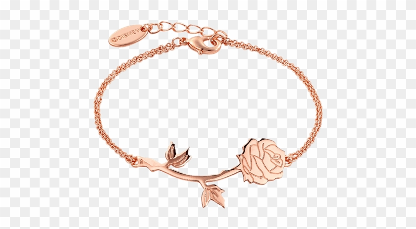 Beauty And The Beast - Beauty And The Beast Rose Bracelet Clipart #1126345