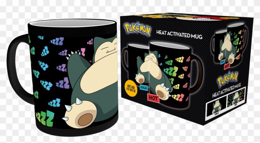 Mgh0049 Pokemon Snorlax Product - Mug Heat Change Pokemon Clipart #1126418