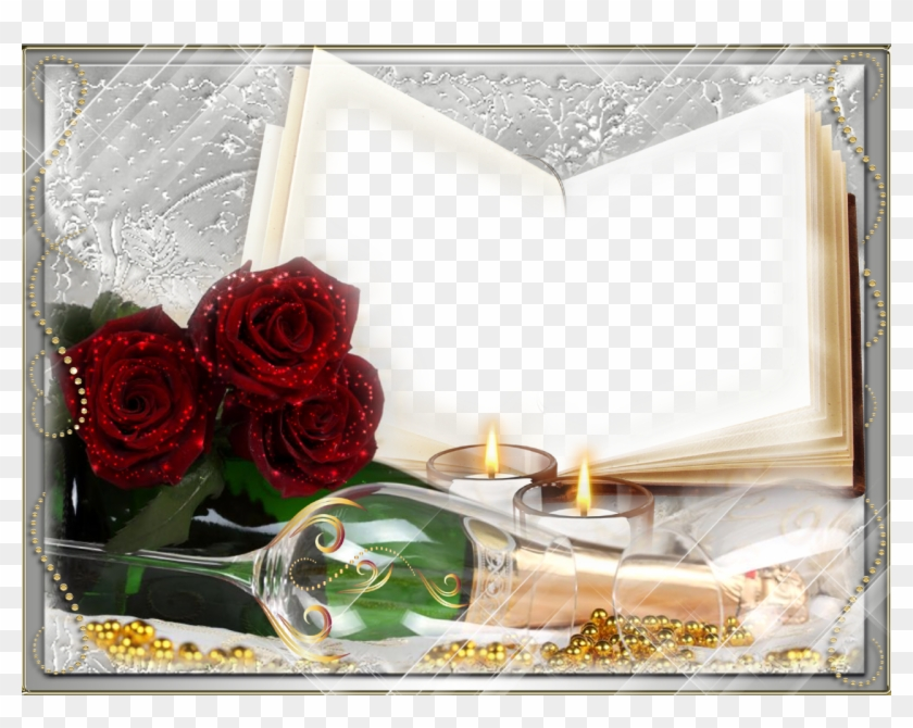 Romantic Love Frame Background Png - Background Hd Frame Png Clipart #1130764